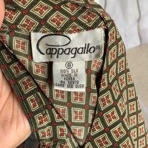 Pappagallo Tops - Vintage Pappagallo Silk Blouse